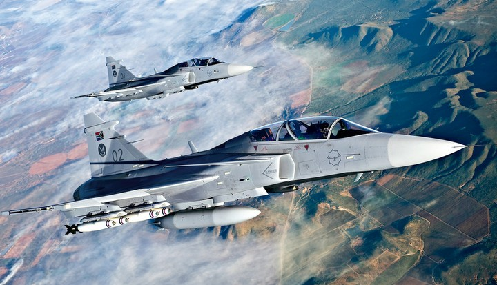 top 10 air force in Africa